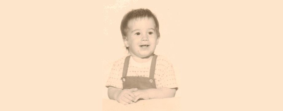 Pre-WeirDave (Raymond David Paine III) - (1967) Age 2