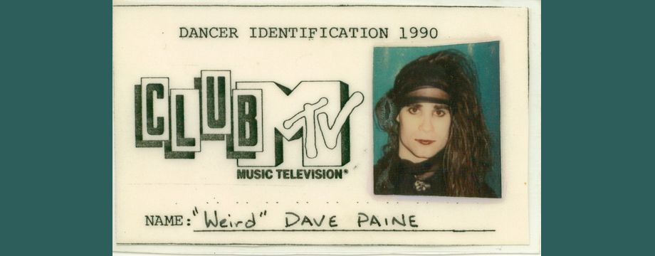WeirDave Club MTV ID Badge (1991)