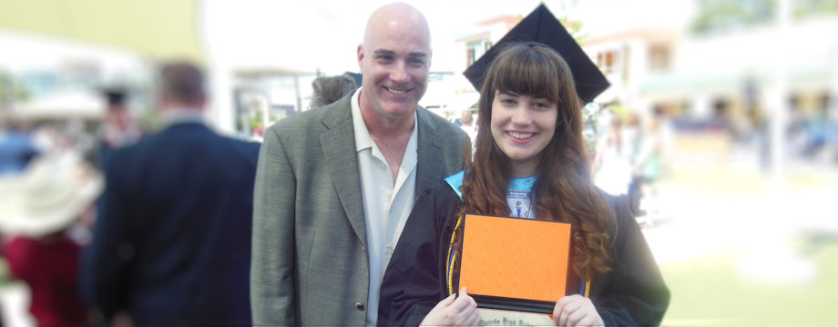 WeirDave at his daughter's graduation (2013)