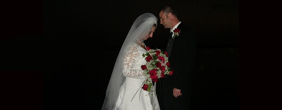 WeirDave and his beautiful bride (2003)